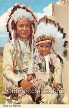 ind300048 - Chief & Papoose  Postcard Post Cards