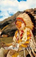 ind300050 - Indian Chief Color Photo by Western Ways Features Postcard Post Cards