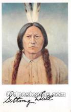 ind300059 - Sitting Bull Lincoln, Nebraska, USA Postcard Post Cards