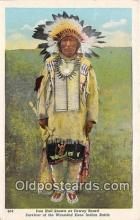 ind300061 - Iron Hail, Dwewy Beard Survivor of the Wounded Knee Indian Battle Postcard Post Cards