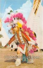 ind300066 - Indian City, Eagle Dance Anadarko, Oklahoma, USA Postcard Post Cards