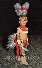 Young Oklahoma Indians Learning