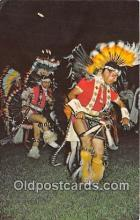 ind300070 - Colorful Fancy Dancers Oklahoma Indian Pow Wows Postcard Post Cards