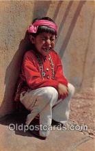 ind300086 - Five Year Old Hopi Boy Color Courtesy Santa Fe Railway Postcard Post Cards