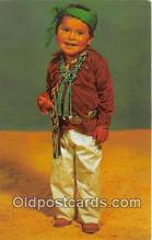 ind300100 - Navajo Indian Boy  Postcard Post Cards