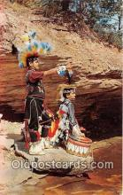 ind300127 - Zuni Indians Photograph by Arthur Langford Postcard Post Cards