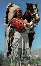 ind300131 - Western Indian Maiden Color by John A Stryker Postcard Post Cards