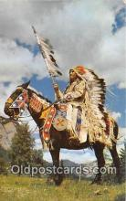ind300137 - Indian Chief  Postcard Post Cards