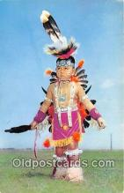 ind300140 - Little Indian Brave Oklahoma, USA Postcard Post Cards
