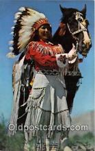 ind300154 - Western Indian Maiden Color by John A Stryker Postcard Post Cards