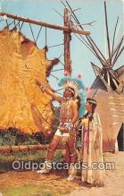 ind300155 - Me Gottum Buffalo Indian City, USA Postcard Post Cards