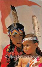 ind300160 - Indian Children of the Stony Tribe Canada Postcard Post Cards
