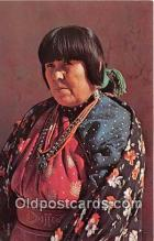 ind300164 - American Indian Woman Photo by Free Lance Photographers Guild, Inc Postcard Post Cards