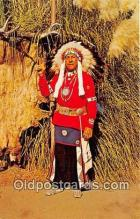 ind300165 - Chief Red Feather Navajo Sioux, Knott's Berry Farm Postcard Post Cards