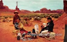 ind300179 - Navajo Indians Northern Arizona, USA Postcard Post Cards