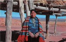 ind300181 - Navajo Woman Color by Dwight Warren Postcard Post Cards