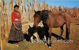 Yung Navajo Girl, Alice Yazzie