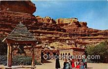 ind300187 - St Christopher's Mission to the Navajo San Juan River, Bluff, Utah, USA Postcard Post Cards