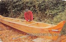 Indian Canoe Maker