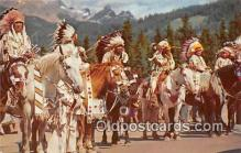 ind300202 - North American Indian Color Photo by CP Ry Postcard Post Cards