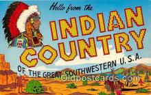ind300203 - Indian Country Southwestern USA Postcard Post Cards