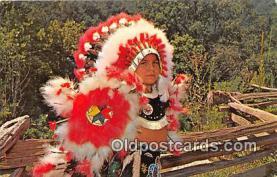 ind300204 - Mose Walkkingstick, Cherokee Indian Boy Cherokee Indian Reservation, North Carolina, USA Postcard Post Cards