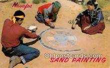 ind300205 - Navajo Sand Painter  Postcard Post Cards
