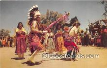ind300206 - Pueblo Indian Dancers  Postcard Post Cards
