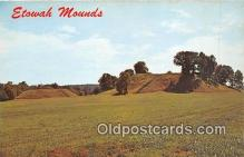 ind300213 - Etowah Mounds Cartersville, Georgia, USA Postcard Post Cards