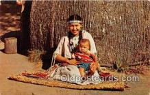 ind300214 - Winnebago Mother & Child Wisconsin Dells, Wis, USA Postcard Post Cards