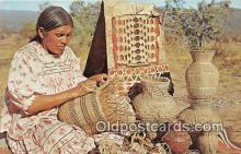 ind300238 - Indian Basket Makers Photo by Western Ways Features Postcard Post Cards