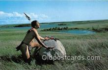 ind300242 - Legendary Prayer Rock Sioux Indians Thunderbird God Postcard Post Cards