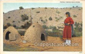 ind300249 - Pueblo Indian Bake Ovens  Postcard Post Cards