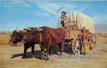 Ox Team Covered Wagon