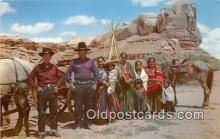 ind300254 - Navajo Family on the Reservation  Postcard Post Cards