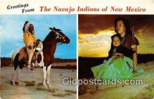 ind300265 - Navajo Indians New Mexico, USA Postcard Post Cards