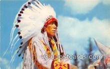 ind300268 - North American Indian Chief Yellowface  Postcard Post Cards