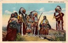 ind300276 - Oklahoma Indians Oklahoma, USA Postcard Post Cards