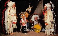 ind300278 - Sioux War Dancers  Postcard Post Cards