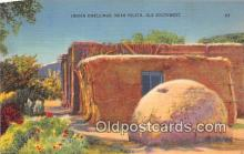 ind300286 - Indian Dwellings Ysleta, Ole Southwest Postcard Post Cards