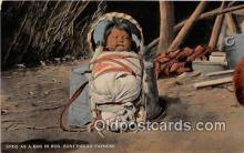 Zuni Indian Papoose
