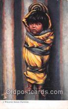 Walapai Indian Papoose