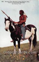 Medicine Owl, Blackfeet Indian Medicine Man
