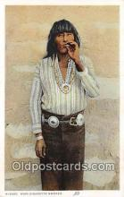 Hopi Cigarette Smoker