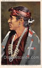 Tom of the Ganado Indian Building