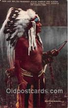 Lazy Boy, Old Blackfeet Indian Warrior