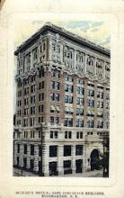 ins001003 - Security Mutual life Insurance Building, Binghamton New York, USA Insurance Postcard Postcards