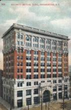 ins001017 - Security Mutual life Insurance Building, Binghamton,  New York, USA Insurance Postcard Postcards