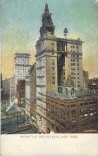 ins001025 - Manhattan life Building, New York, USA Insurance Postcard Postcards