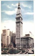 ins001038 - Metropolitan Building Madison Square, NY, USA Postcard Post Cards Old Vintage Antique